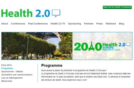 Conférence Health 2.0 Europe : le programme - 1